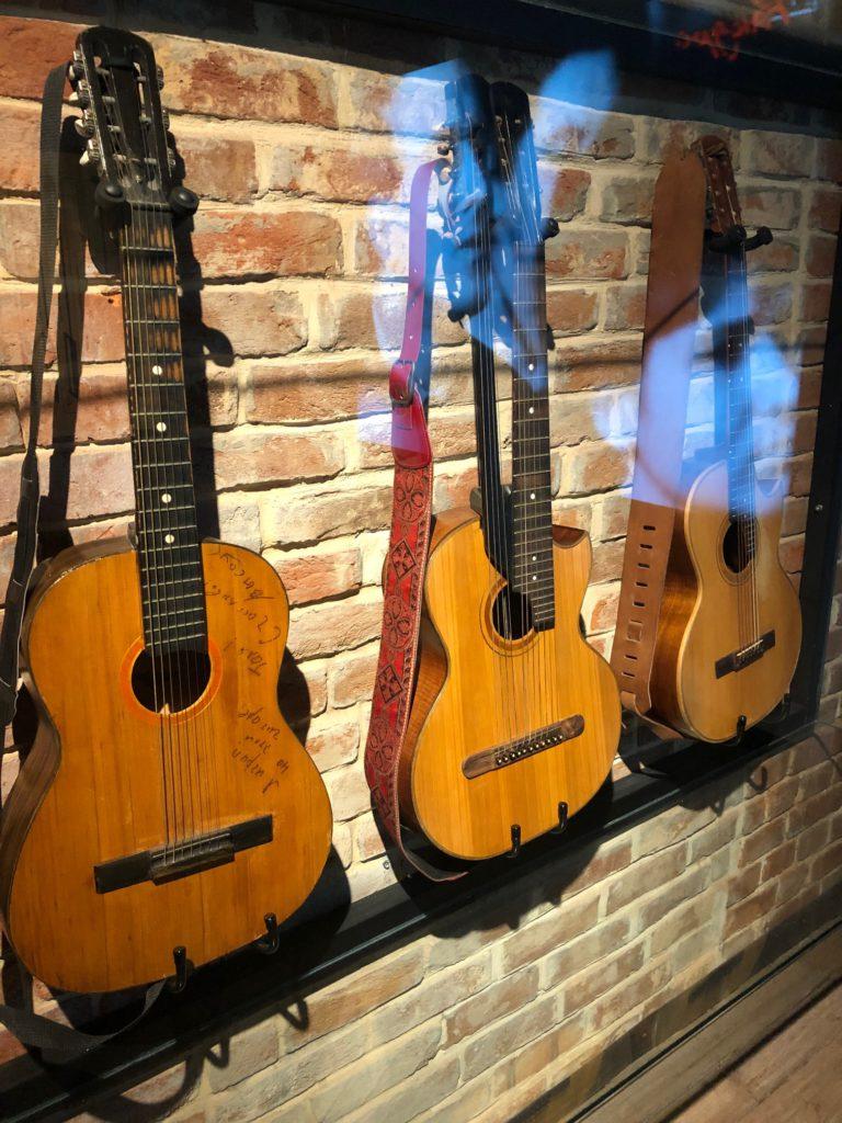 Государственный музей Владимира Высоцкого - гитары