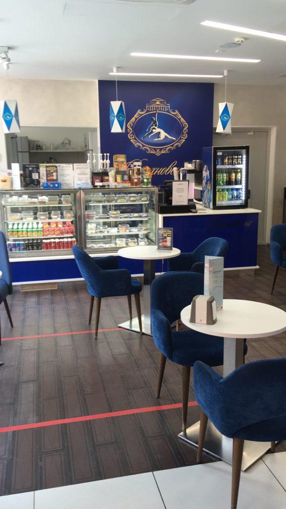 Кафе при магазине Аленка