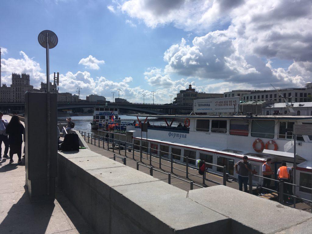 Причал Б. Устьинский мост