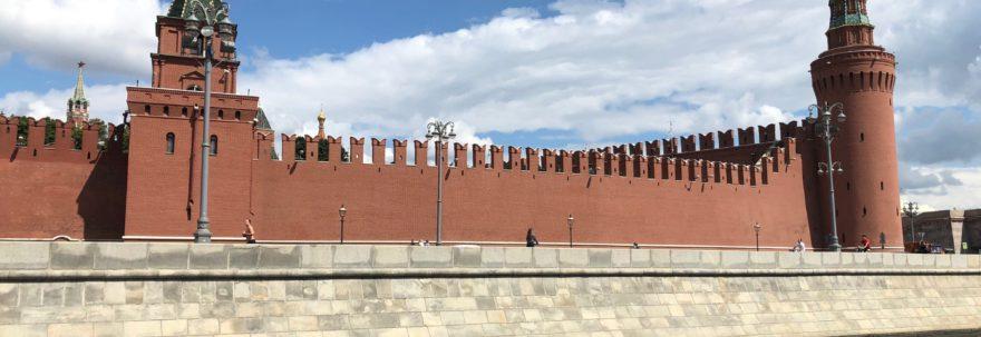 Прогулка по Москве реке - Кремль